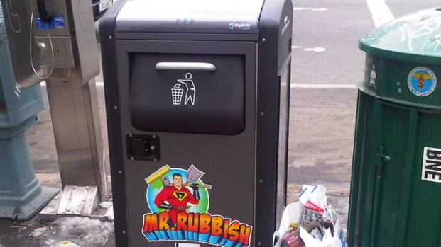 [NY] Solar-Powered Trash Cans Debut in Park Slope