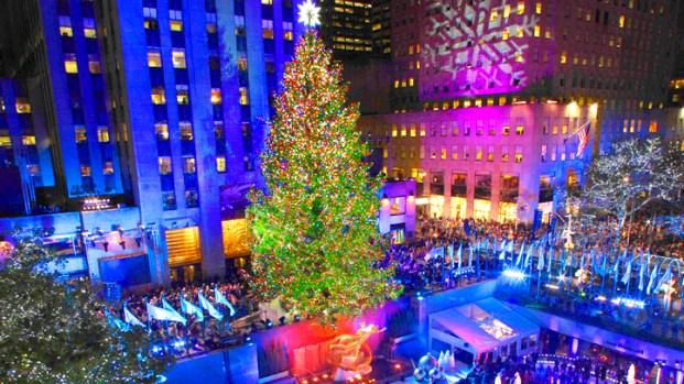 [NY] Rockefeller Tree-Lighting Time Lapse