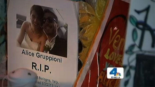 [LA] Husband, Relatives Mourn Newlywed Woman Killed in Venice Boardwalk Crash