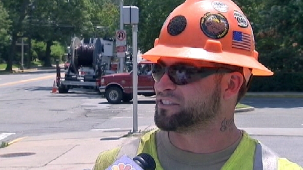 [NY] Heat Wave Takes Toll on Outdoor Workers