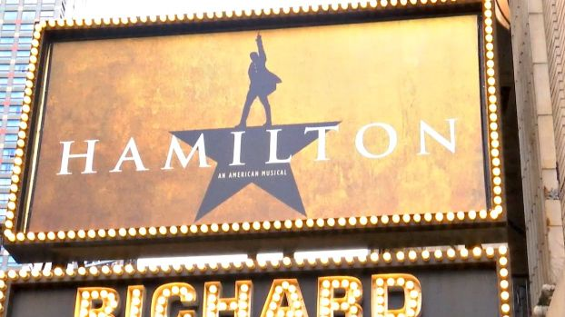 "[NY] Broadway Welcomes ""Hamilton"""
