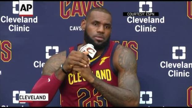[NATL] Lebron James: Trump Trying to 'Divide Us'