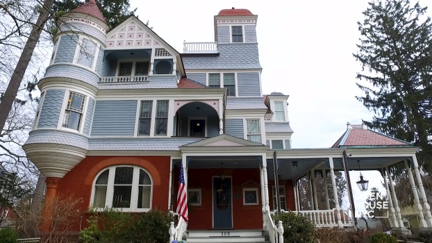 Home Tour: An 1800's Victorian Home in Upper Nyack