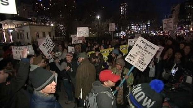 [NY] Eric Garner Protesters March in NYC