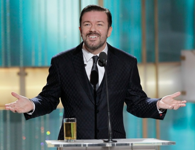 Ricky Gervais' 19 Best Golden Globes Insults