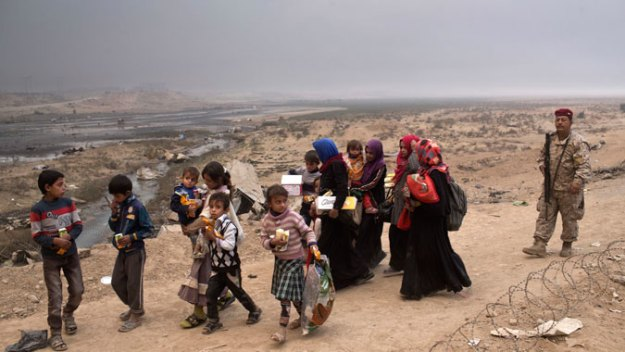 ISIS Forcing Civilians to Be Human Shields in Mosul: Reports