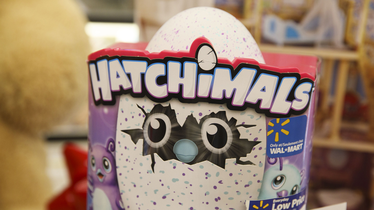 The Hatchimals Hatching Egg toy is displayed with Black Friday specials at a Wal-Mart Stores Inc. location in Burbank, California, on Tuesday, Nov. 22, 2016. (Patrick T. Fallon/Bloomberg via Getty Images)