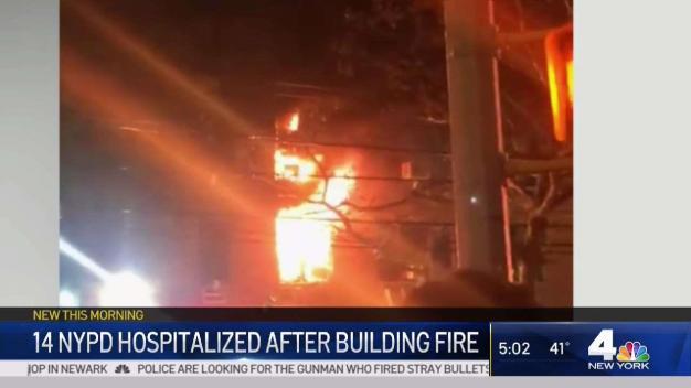 14 Cops Hurt in Bronx Apartment Fire