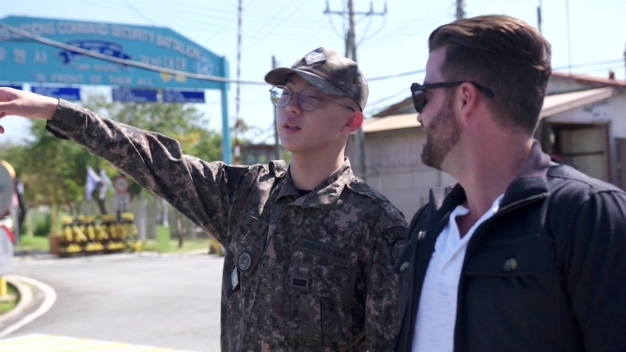 Johnny Bananas Visits the North Korean Border