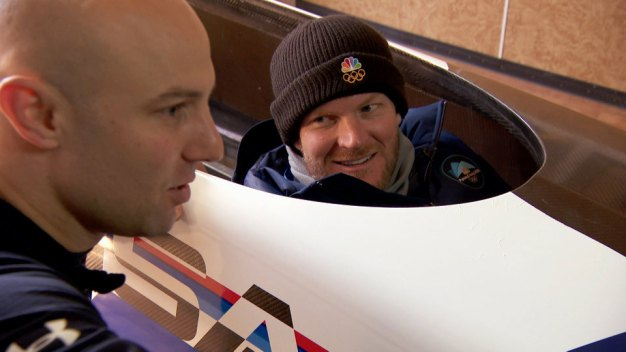 'Holy Cow!' Dale Earnhardt Jr. Checks Out Bobsled Track
