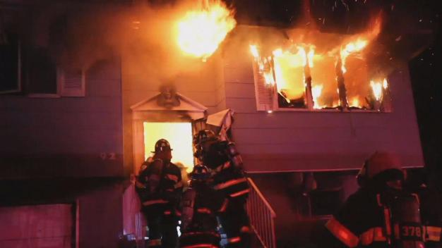 2 Hurt in Central Islip House Fire