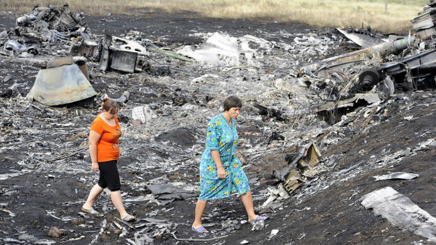 MH17 Wreckage Has Been