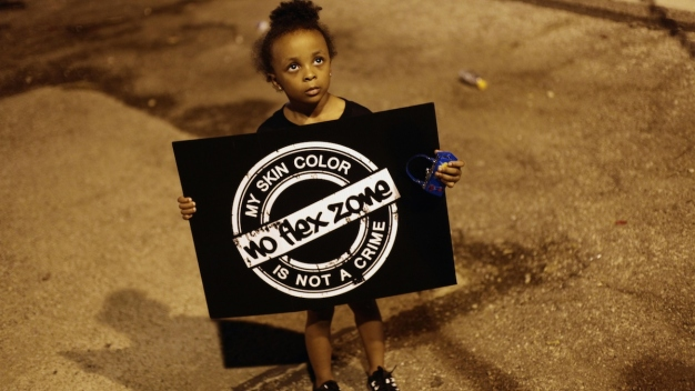 Protests in Ferguson Remain Calm for Second Night