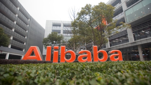 Alibaba Shares Open at $92.70 in Trading Debut