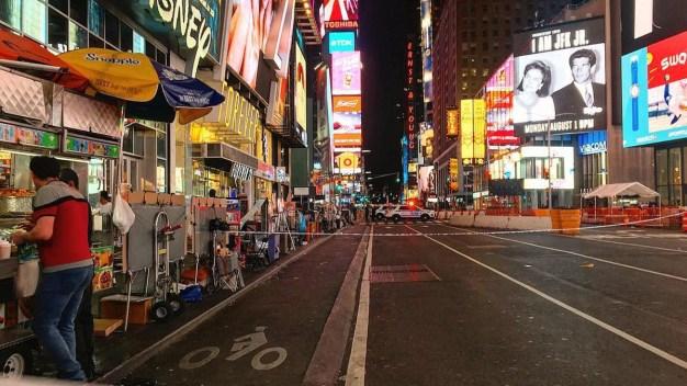 Suspicious 'Knapsack' Forces Evacuation of Part of Times Square
