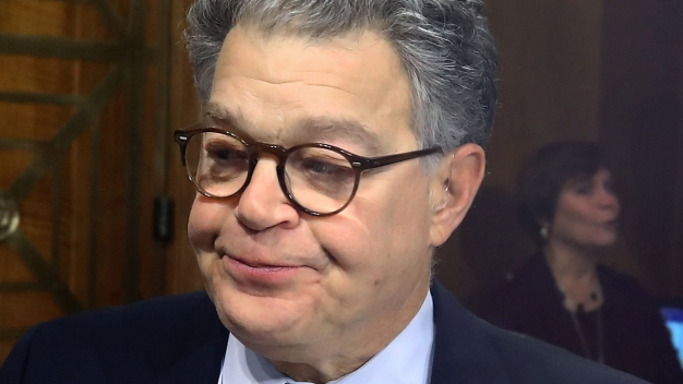 For Franken, a Rising Trajectory, and Then the Accusations