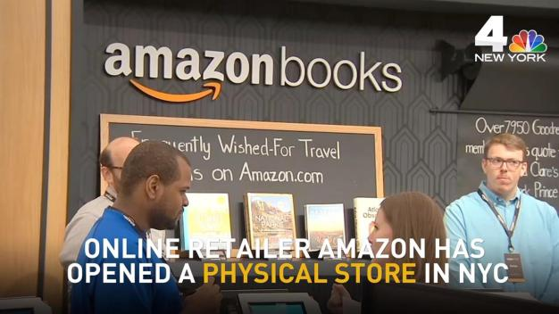 Amazon Opens Physical Store in NYC