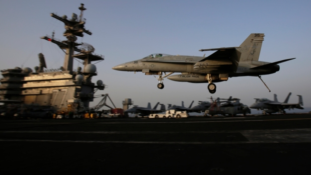 U.S. Launches 1st Airstrikes on ISIS Near Baghdad