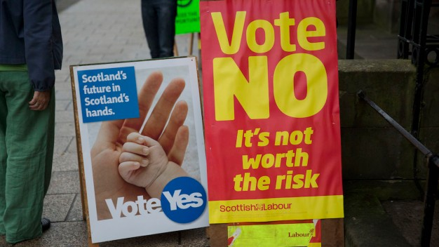 Scots Vote on Independence, Record Turnout Expected