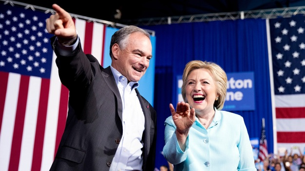 Clinton, Kaine Rally Voters in Pittsburgh