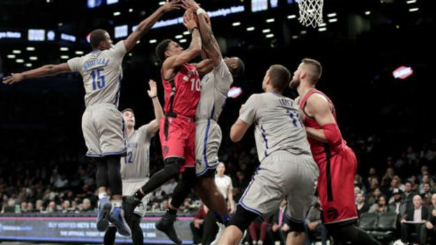 Nets Fall to Raptors 119-109 for 11th Straight Loss