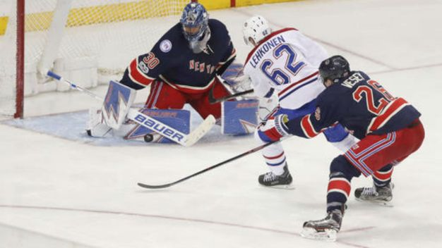 Rangers Fall to Canadiens in Shootout 3-2
