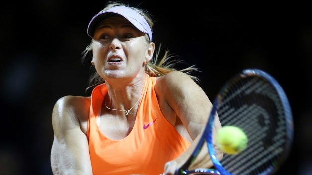 Sharapova Wins 1st Match on Return From 15-Month Doping Ban