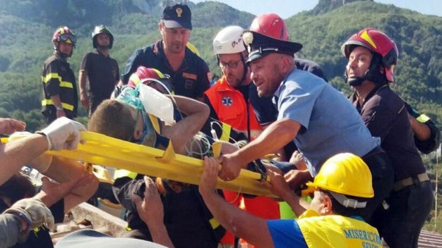 3 Brothers Saved From Rubble After Quake Hits Italian Island