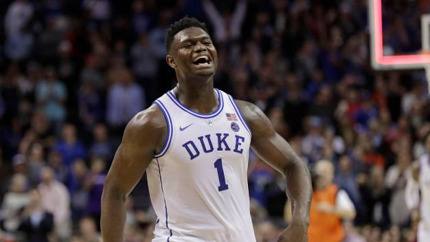 Zion Williamson-Led Duke Gets Top Seed in March Madness