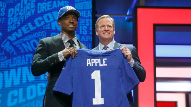 Giants Draft Ohio State's Eli Apple With 10th Overall Pick