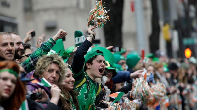 Street Closures for the St. Patrick's Day Parade
