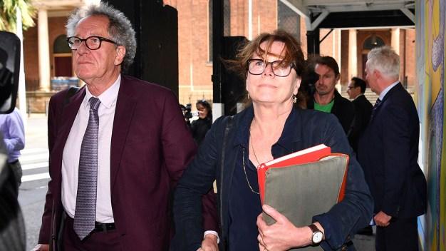 Geoffrey Rush's Wife Testifies Actor Wept, Denied Allegation
