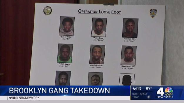 Alleged Members of Violent Brooklyn Gang Arrested
