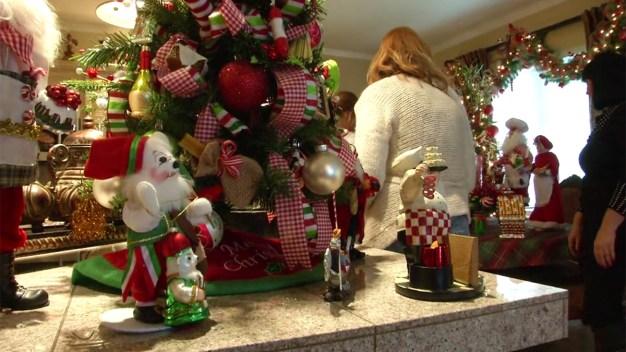 Calif. Woman Decks Home With 23 Christmas Trees}