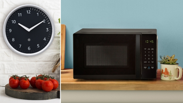 Microwave, Clock Among 15 New Amazon Smart Products