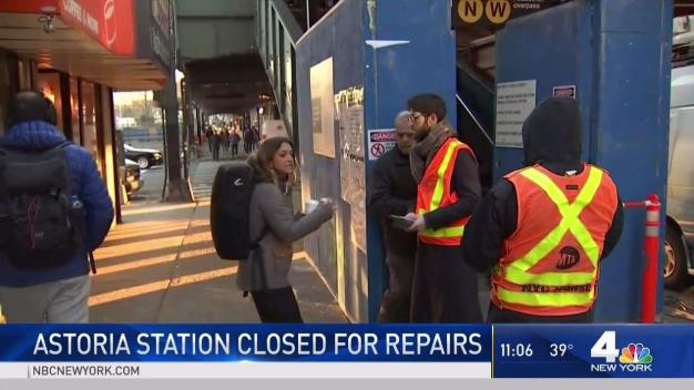 Astoria Station Closes Down for 9 Months for Repairs