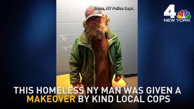 Homeless NY Man Gets Amazing Makeover From Cops