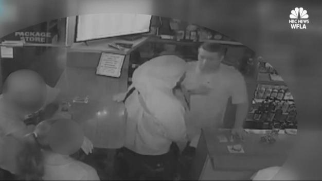 Barflies Order Drinks During Armed Robbery