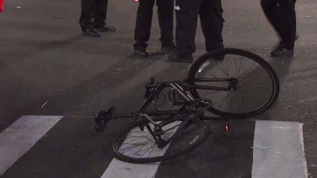 Bicyclist Hurt After Being Hit by a Car Evading Police: Cops