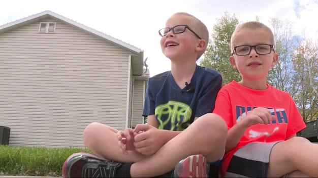 Caught on Cam: Little Boys Decide to 'Do the Right Thing to Do'