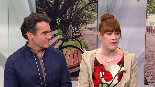 Brian d'Arcy James and Molly Ringwald Talk New Film