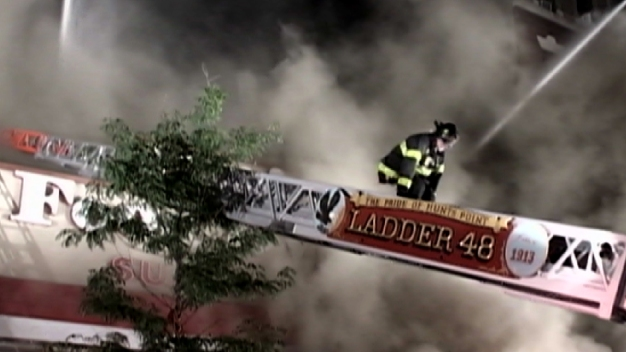 Child, Firefighters Hurt in 5-Alarm Blaze at Supermarket
