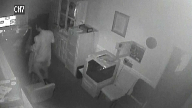 Burglar Steals From Funeral Home