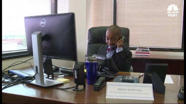Sick Boy Gets Wish to Be CEO for a Day