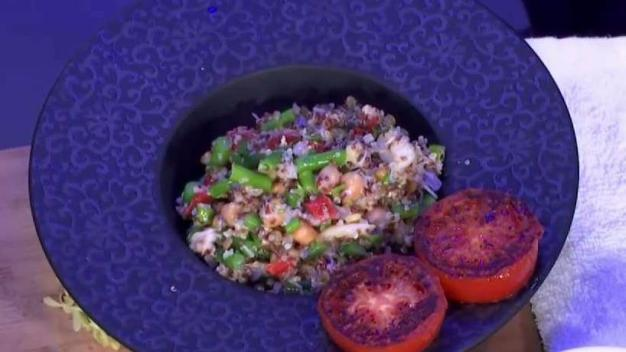 Chef Ricardo Cardona's Quinoa Paella