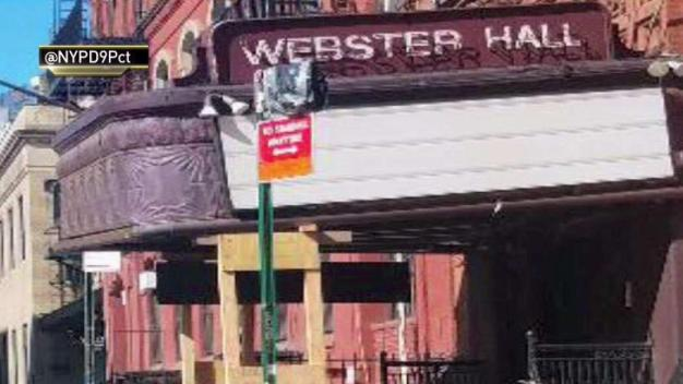 Collapsing Marquee Clings to Iconic Webster Hall