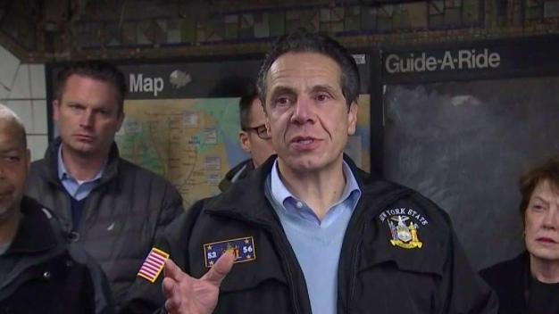 Cuomo Spends Night Underground Inspecting L Train Tunnel
