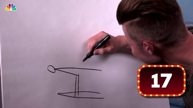 What Is Joey Mantia Drawing?}