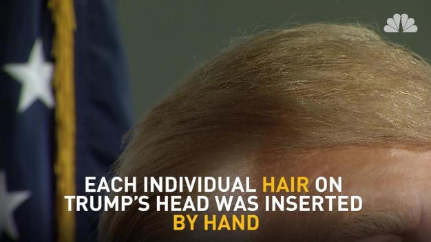 Donald Trump Revealed at Madame Tussauds