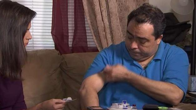 Diabetic Man Worried About Running Out of Equipment